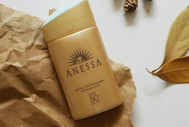 Anessa Perfect UV sunscreen skincare milk SPF 50+ PA++++