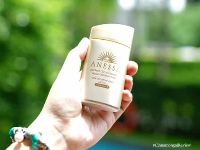 Anessa Perfect UV Sunscreen Aqua Booster Mild SPF50+ PA++++